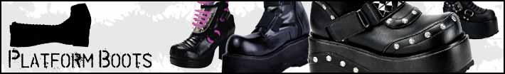 Womens platform boots