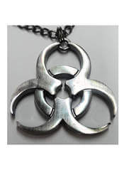 Biohazard Necklace Pendant