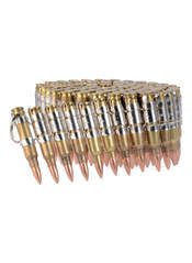 .233 Brass and Nickel Bullet Belt