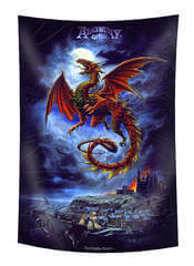 The Whitby Wyrm Flag Scarf