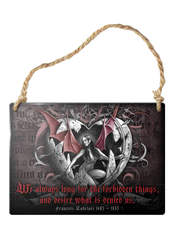 Forbidden Things Sign