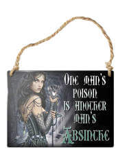 One Man's Poison Sign