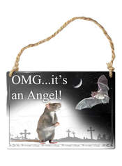 OMG It's an Angel! Sign