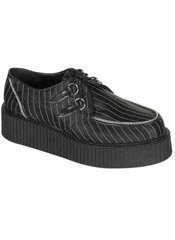 CREEPER-401 Black Stripe Creepers