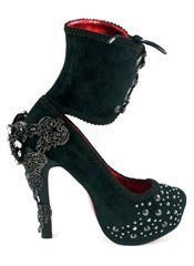 ISABELLADESTE Black Victorian Heels