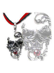 Venetian Mask of Death Pendant