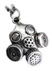 Gas Mask2 Pendant