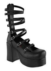 ABBEY-08 Black Vegan Boots