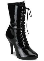 ARENA-1020 Black Victorian Boots
