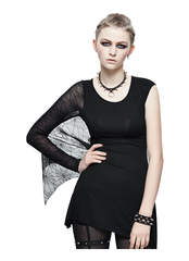 Black Lace Weaver Women's Top