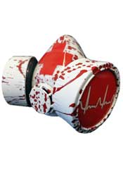 Blood Splatter Respirator