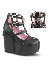 POISON-25-1 Wedge Platform Bootie