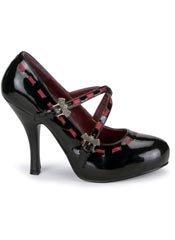 VAMPIRE-10 Black Bat Heels