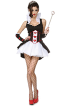 Queen of Hearts Costume - Clearance