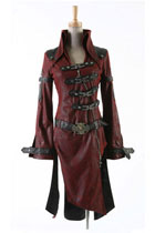 Hell-Fire Visual Kei Coat
