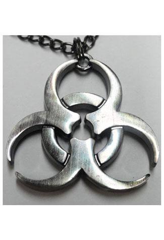 Biohazard Necklace Pendant