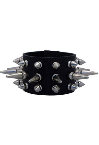 143SLS Leather Wristband