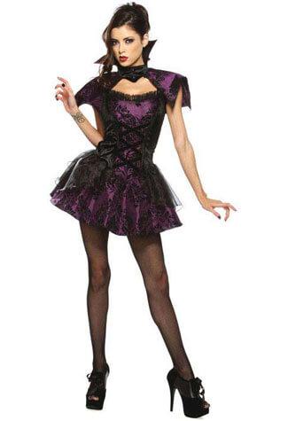 Velvet Vamp Costume - Clearance