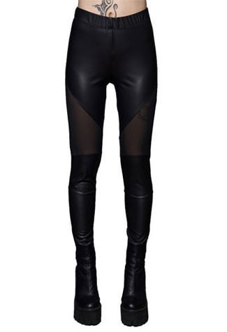 Matte Foil Spandex Leggings - Clearance