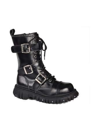 T.U.K. A6055 - 3 Strap Boots
