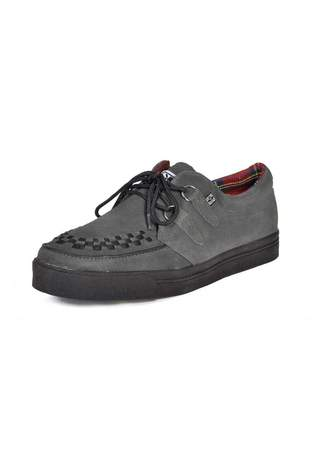 T.U.K. A7691 - Grey Creeper Sneakers