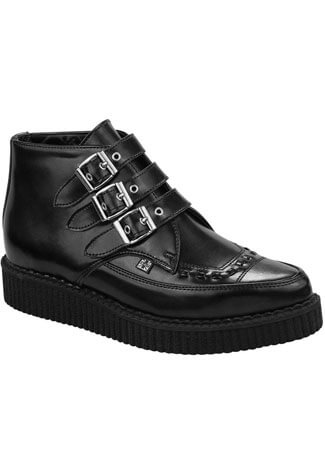 T.U.K. Leather Creeper Boots A8503