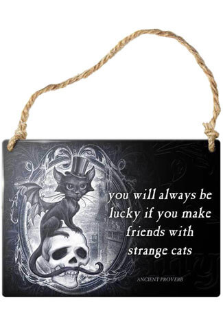 Strange Cats Sign
