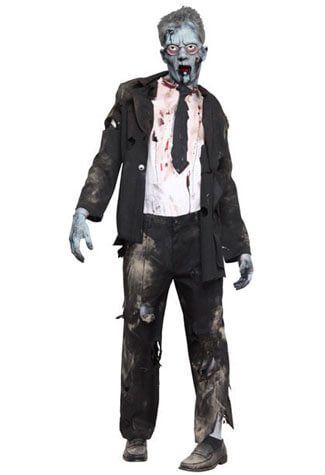 Graveyard Zombie Kit Costume - Clearance