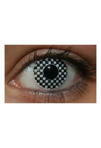 Chequered Funky Lenses