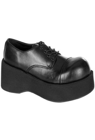 DANK-101 Black Platform Shoes