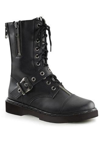 DEFIANT-206 Black Combat Boots