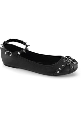 STAR-23 Pentagram Ballet Shoes