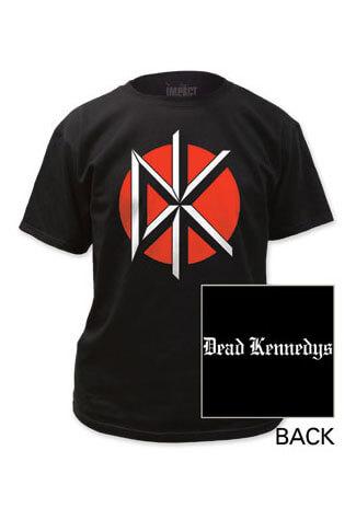 Dead Kennedys - DK Logo Black