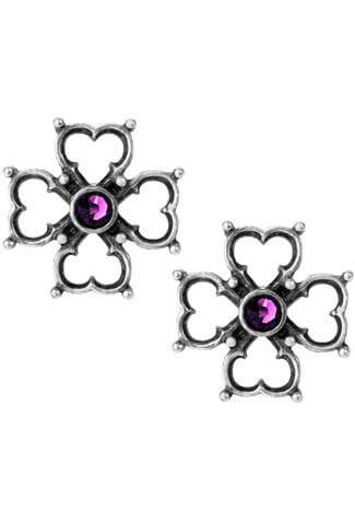 Elizabethan Cross Stud Earrings
