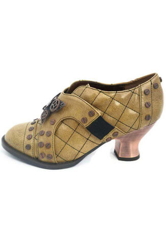 ICON Mustard Steampunk Shoes