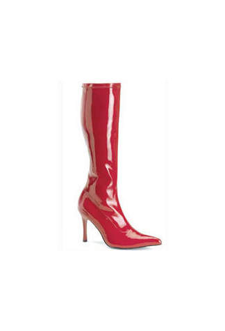 LUST-2000 Red Heel Boots