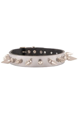 Alternating German Spike Choker