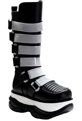 NEPTUNE-310UV Black Cyber Boots