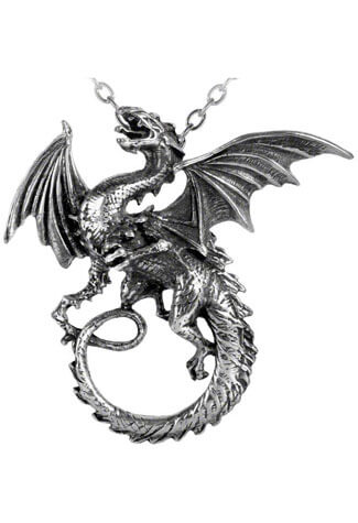 The Whitby Wyrm Pendant