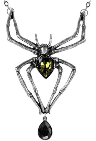 Emerald Venom Necklace