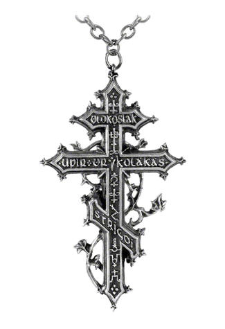 Balkan Revenant's Cross Pendant Necklace
