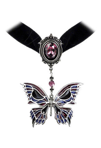 Deaths Head Butterfly Choker