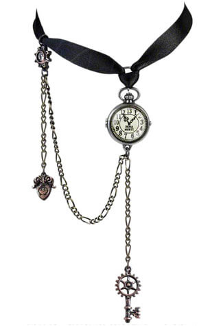 Timepiece Choker Necklace