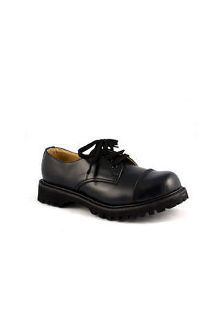 ROCKY-03 Black Steel-Toe Leather - Clearance