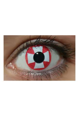 Red Cross Funky Lenses