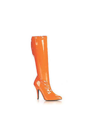 SEDUCE-2000 Orange Stretch Boots