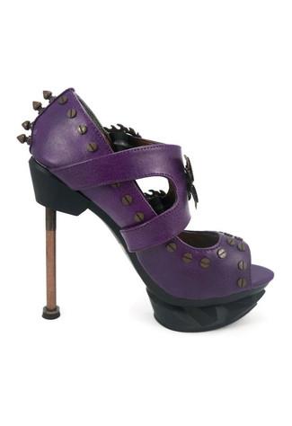 SKYCAPTAIN Purple Stilettos