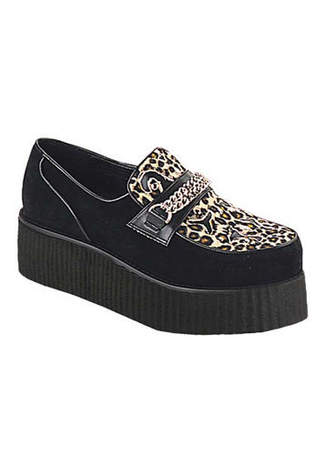 V-CREEPER-509S Cheetah Fur Creepers