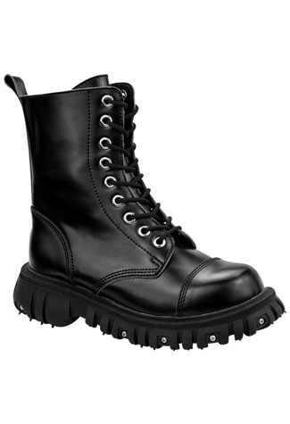 T.U.K. A8614 - Laceup Leather Boots - Clearance