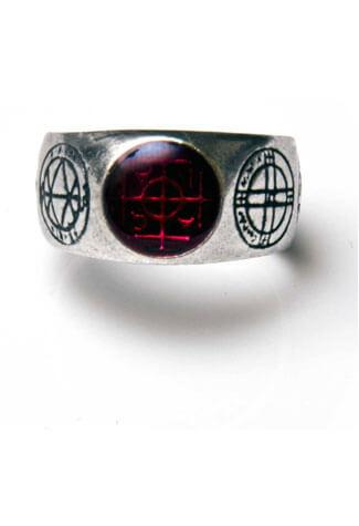 Agla Pewter Ring